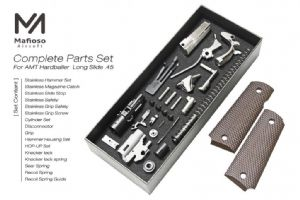 Mafioso CNC AMT Long Slide Complete Parts Set for Marui M1911 GBB
